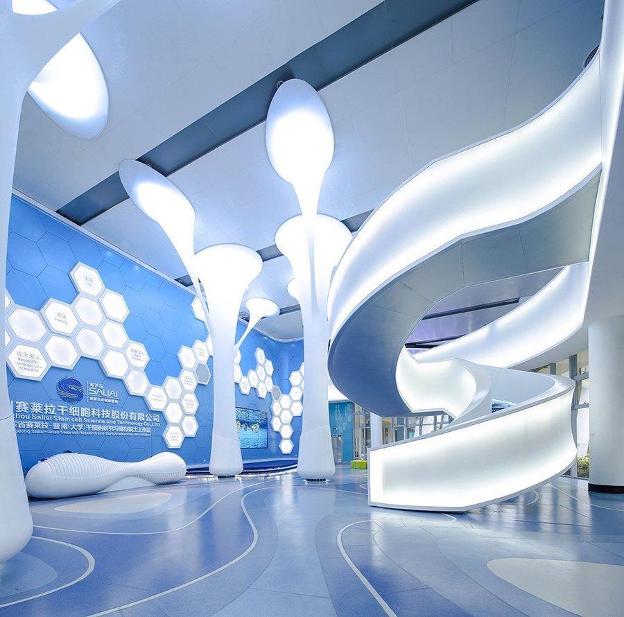 广州赛莱拉生物办公楼装修设计