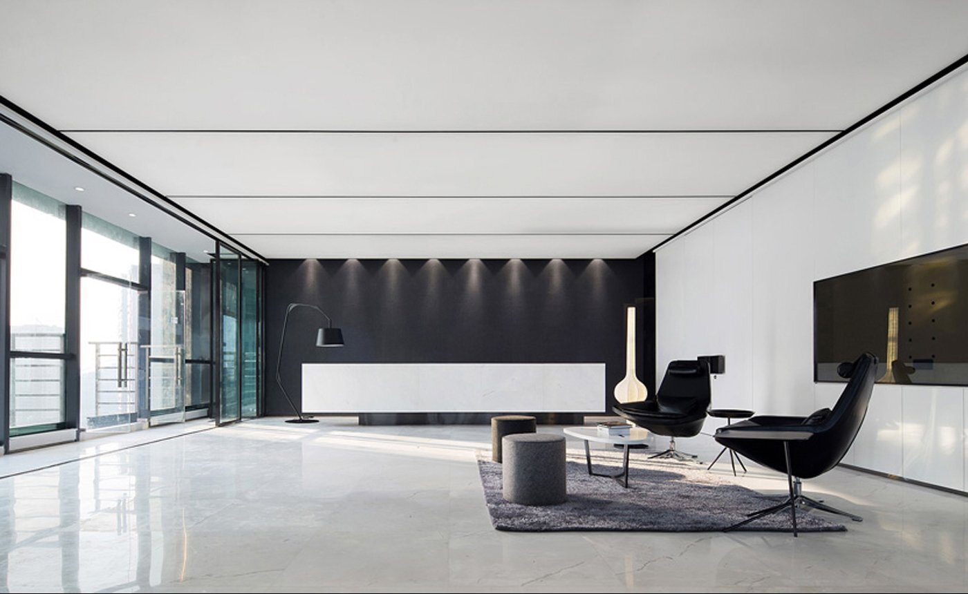 中微公司上海办公空间装修设计