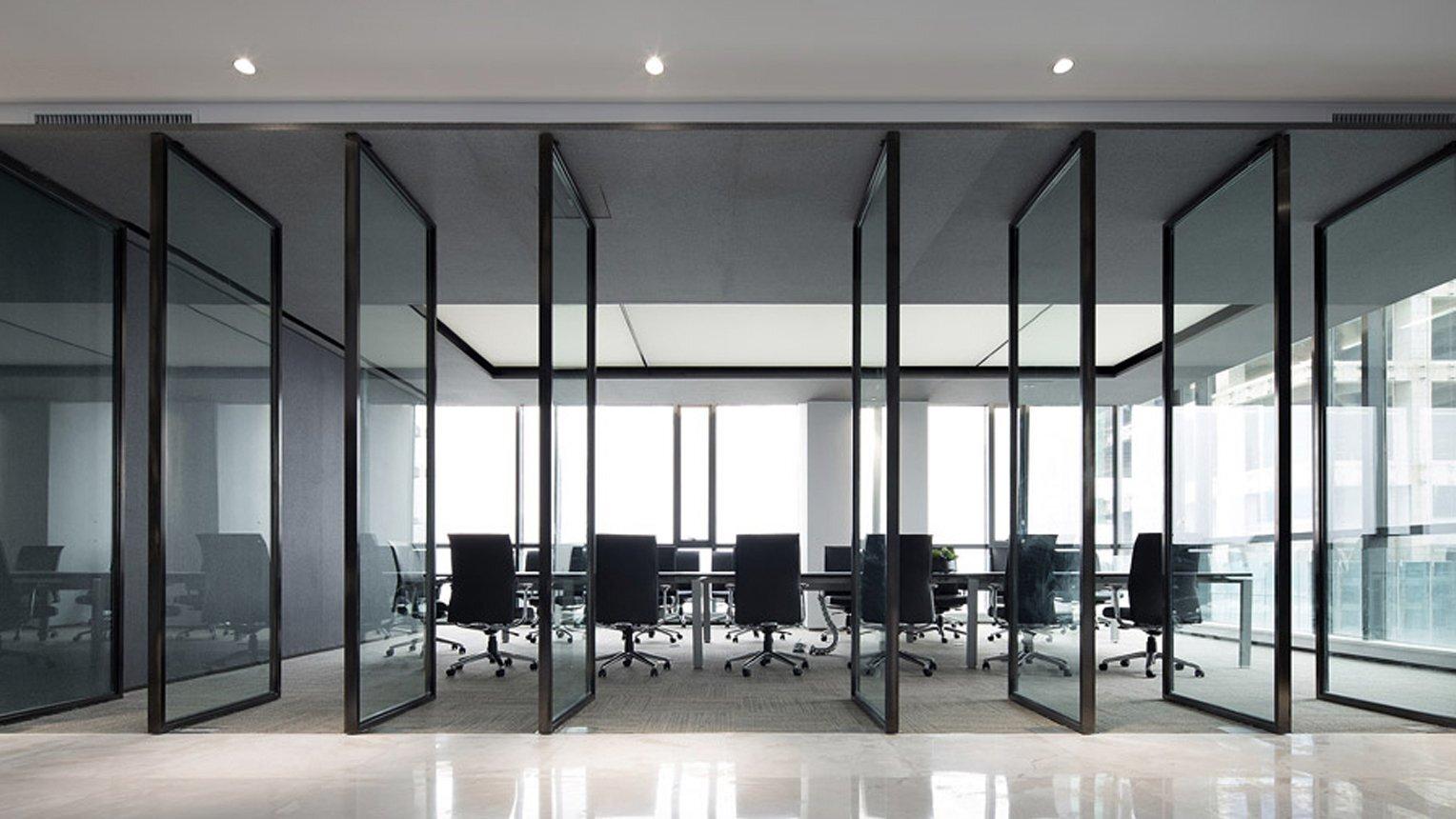 5中微公司上海办公空间装修设计