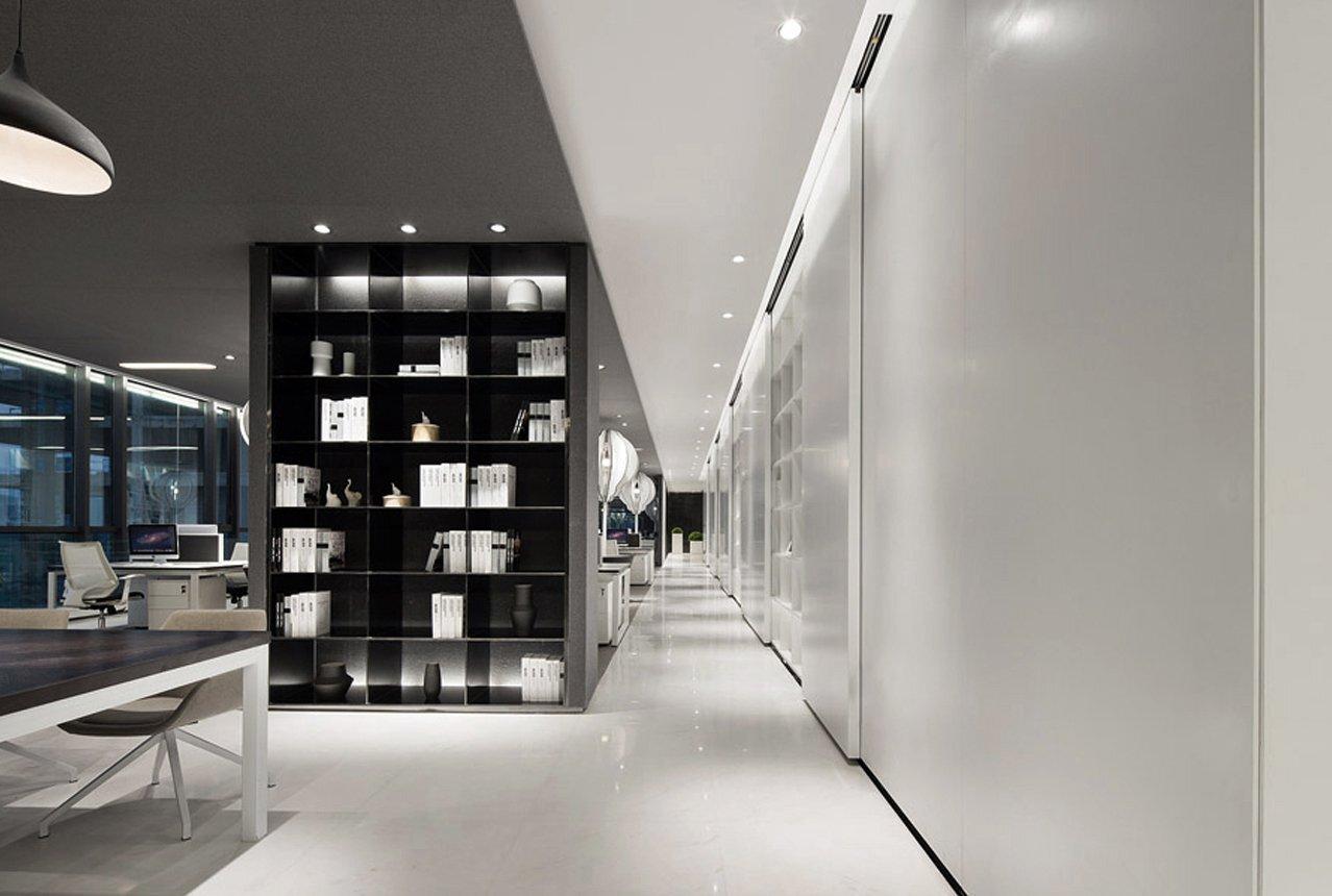 8中微公司上海办公空间装修设计
