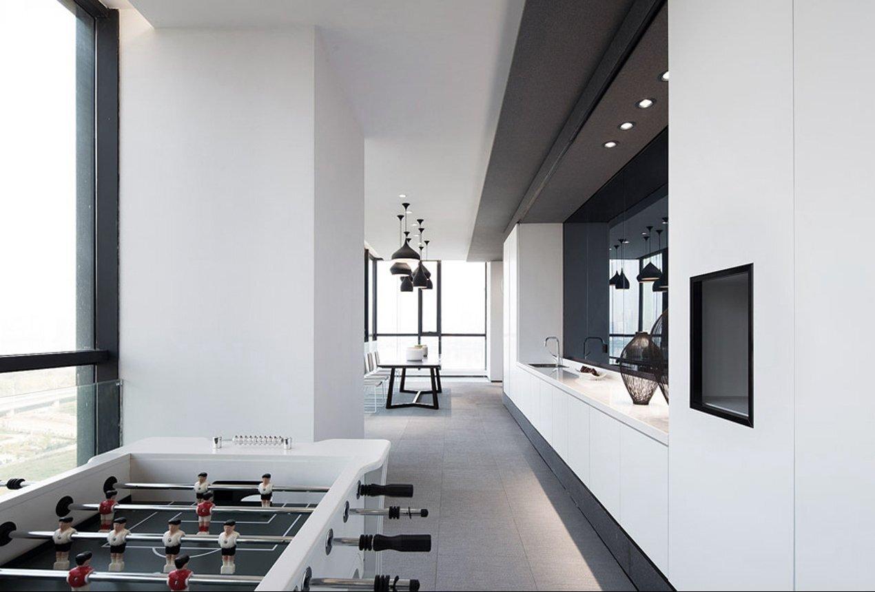 11中微公司上海办公空间装修设计