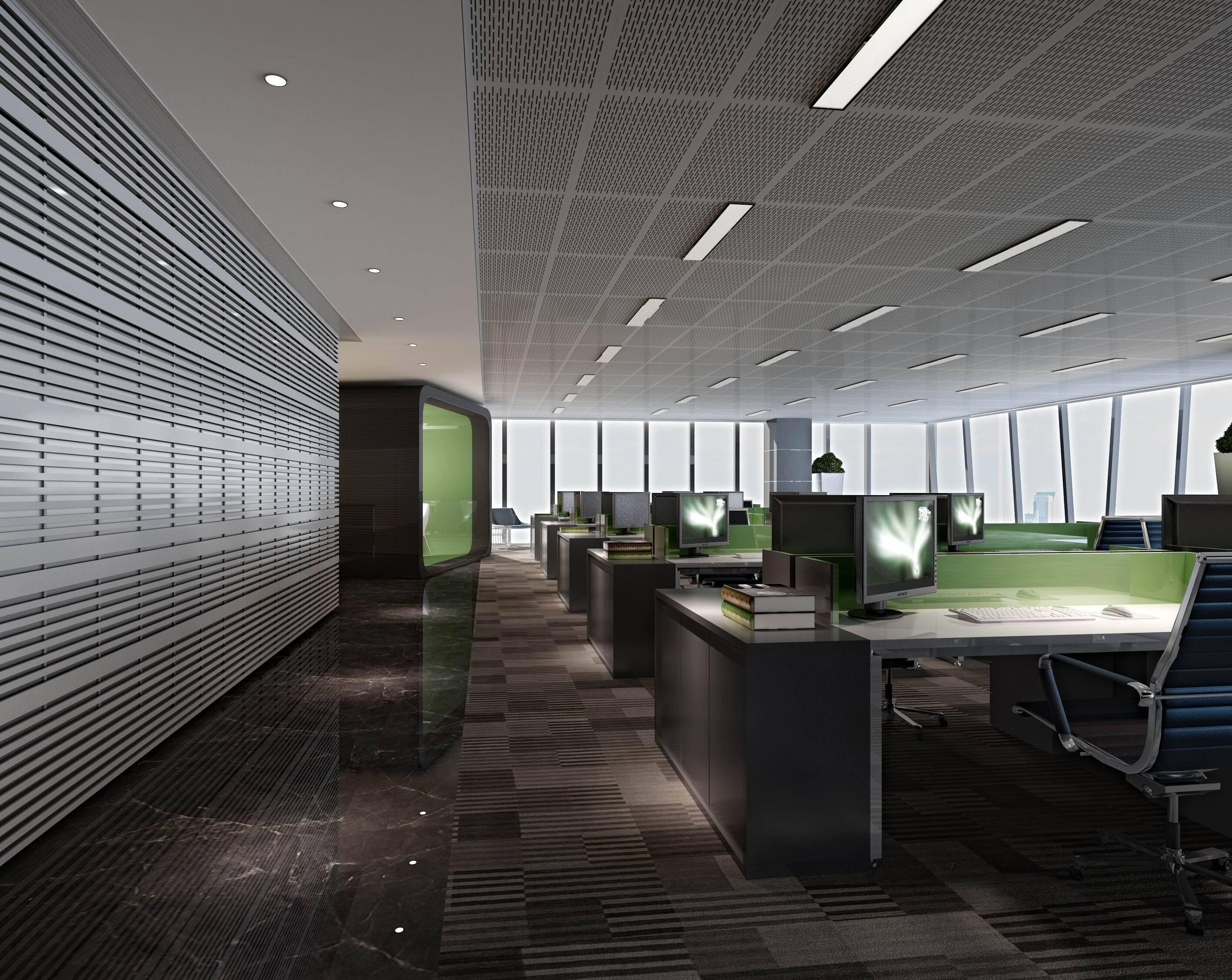 复星药业上海办公室装修设计