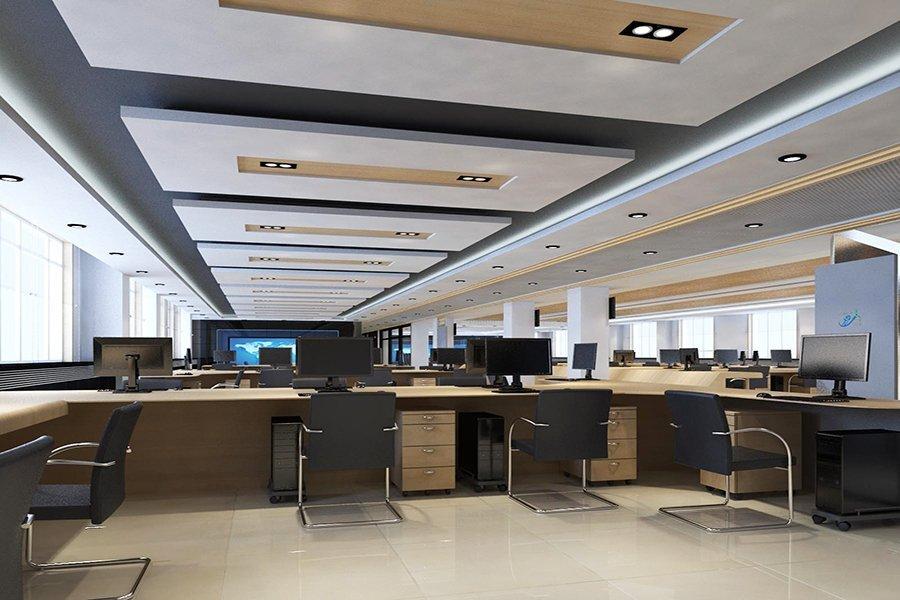 恒生电子上海办公室装修设计