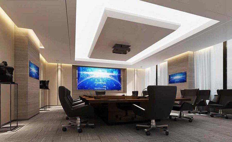 苏州能讯高能半导体有限公司办公楼装修设计
