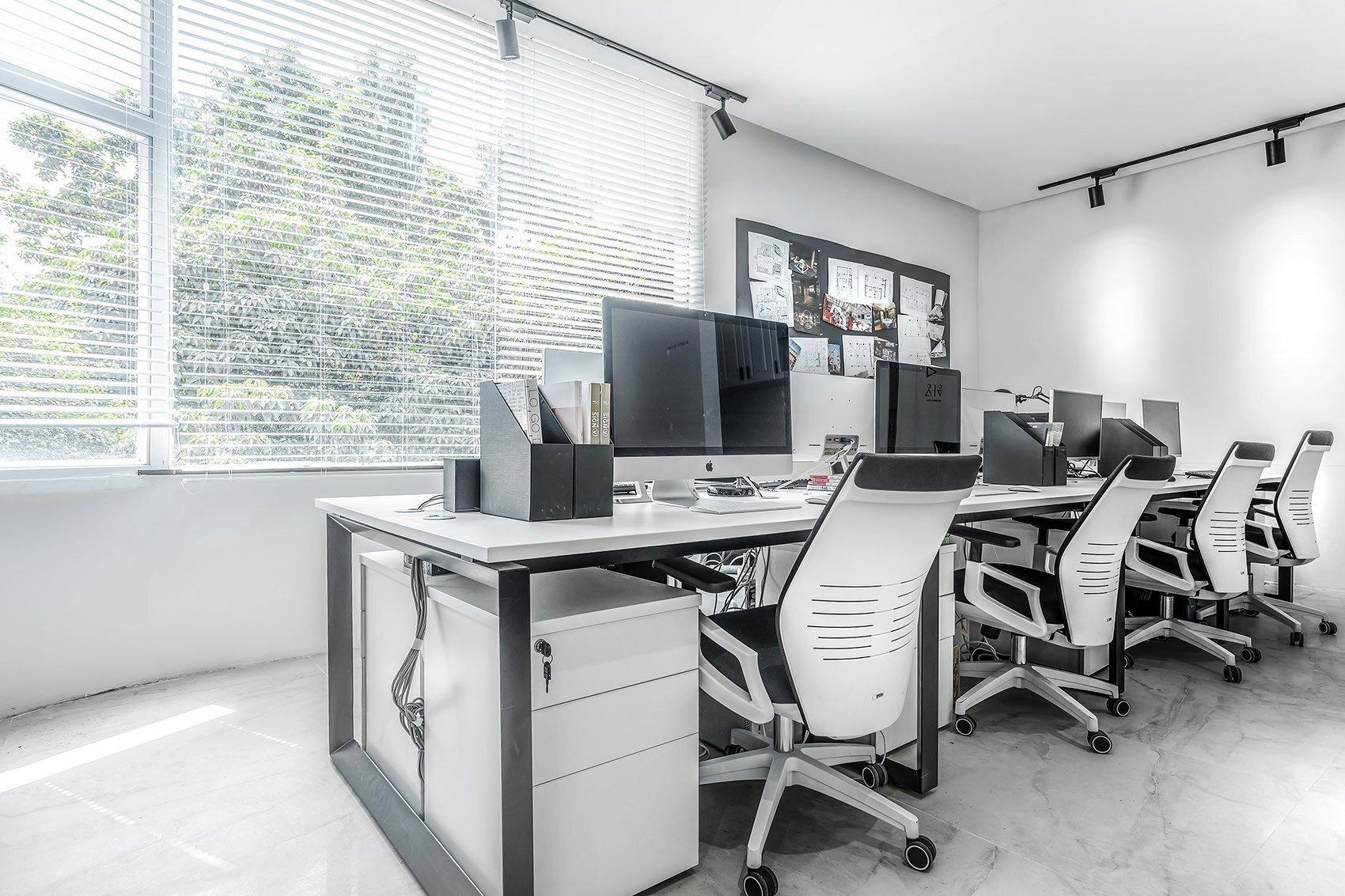 现代中式风格办公空间装修设计