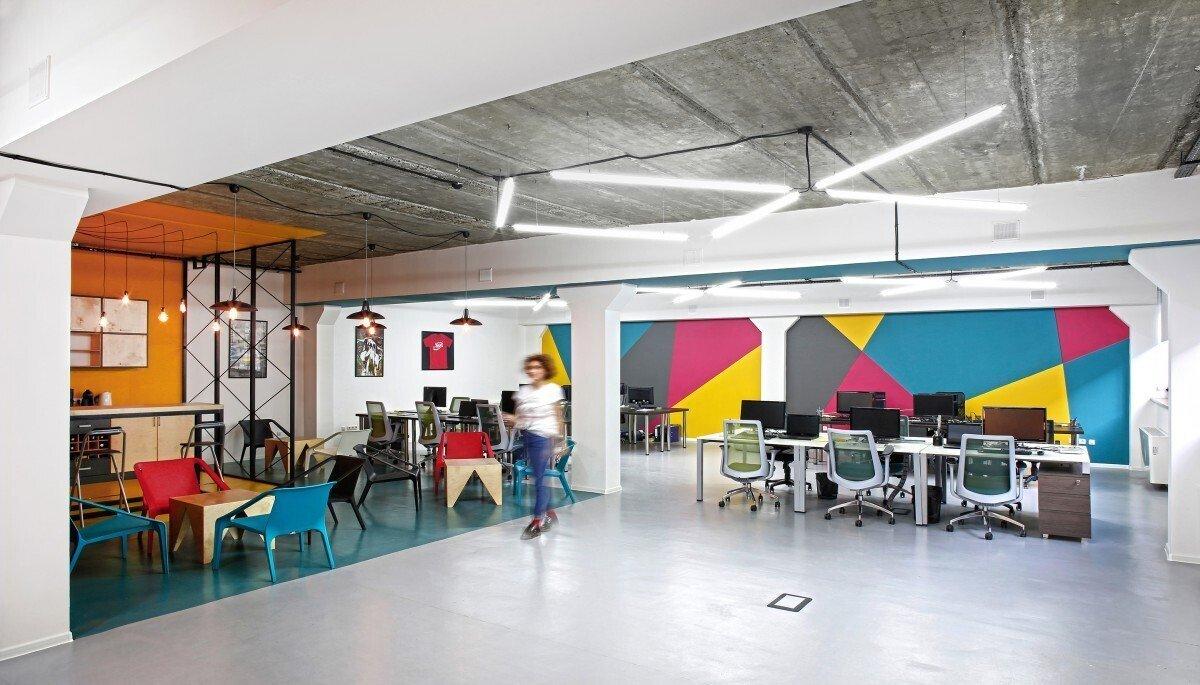 办公空间装修灯光设计