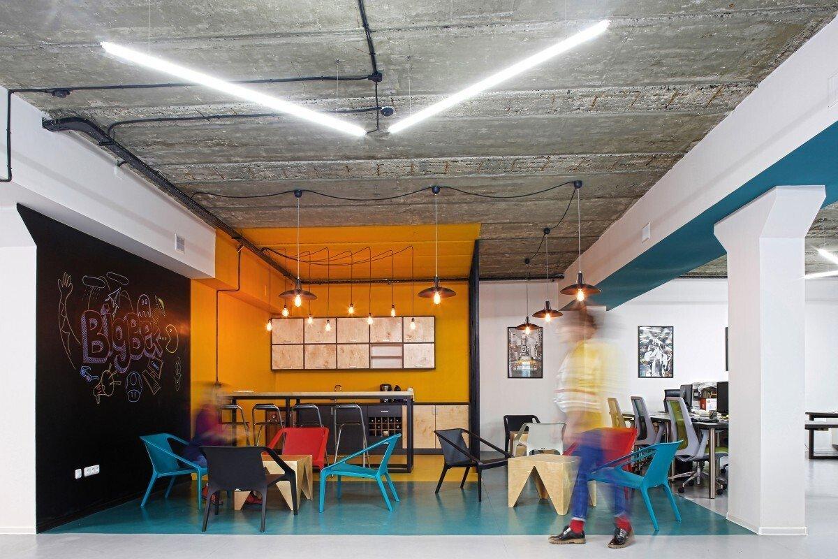 办公空间装修灯光如何装的高大上