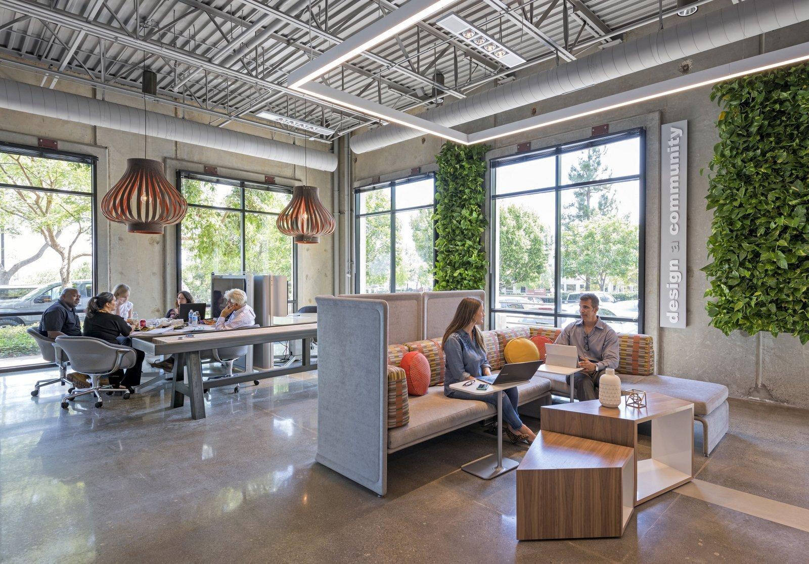 办公空间装修简约灯光怎么选择