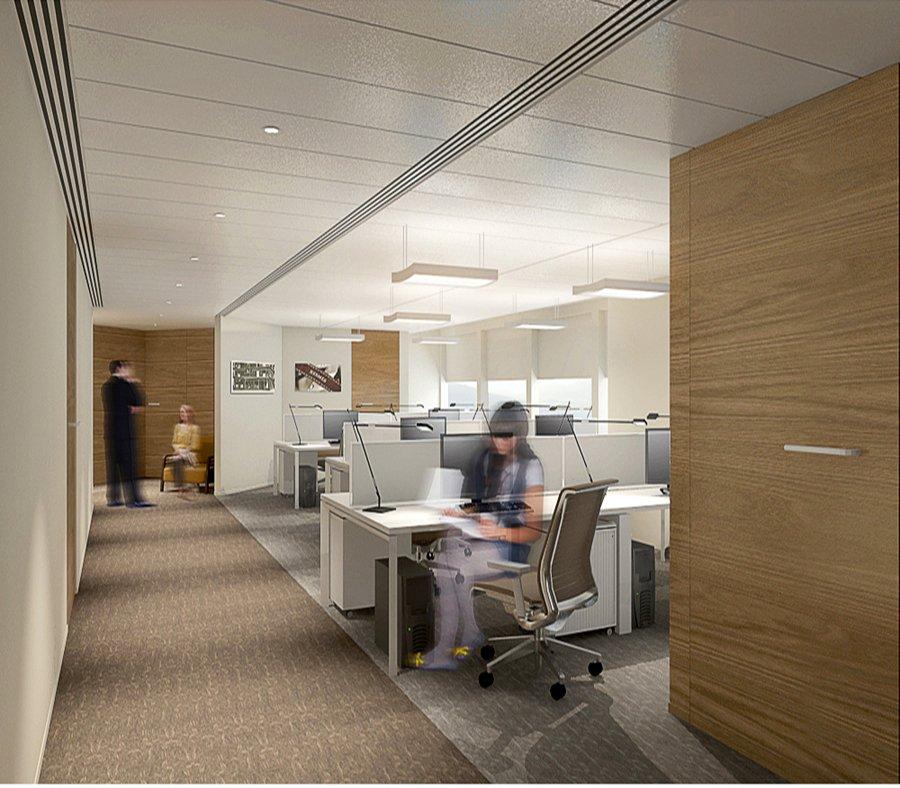 大汇贸易-办公室装修